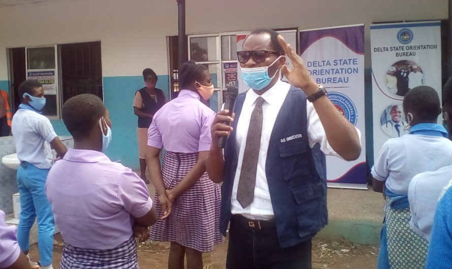 THE SENSITIZATION CAMPAIGN ON CULTISM,  AND DRUG ABUSE ACROSS SECONDARY SCHOOLS IN DELTA STATE